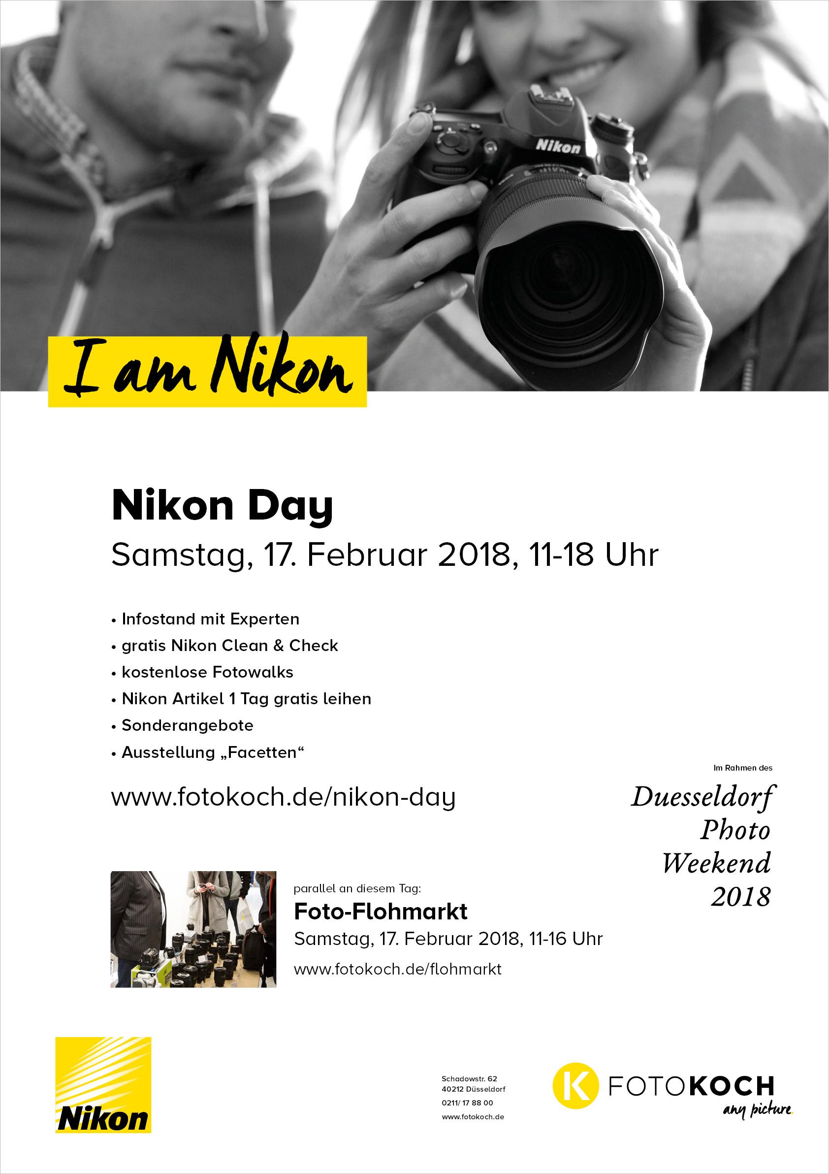 Nikon Day Plakat