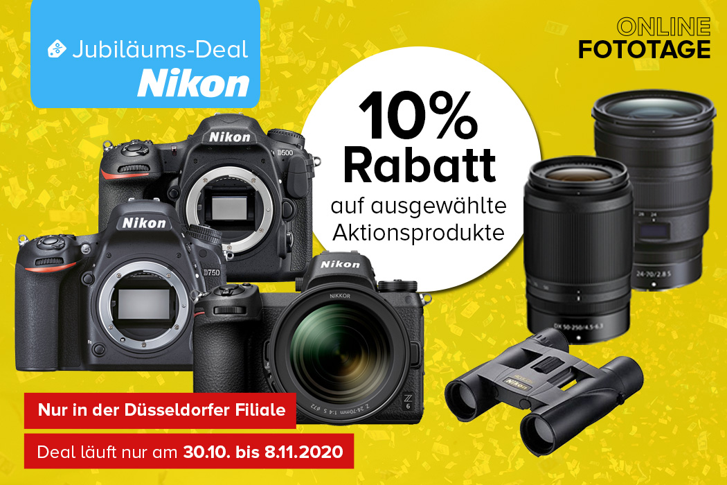 Nikon Jubiläums-Deal