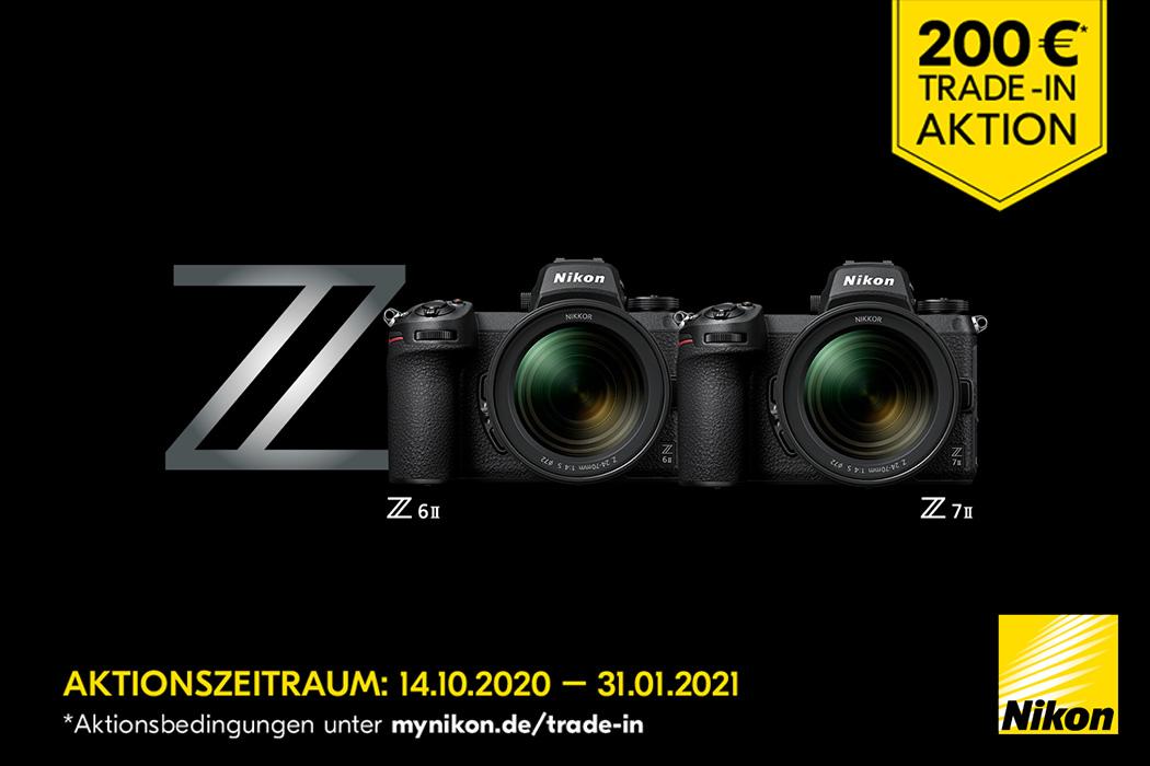 Nikon Z7 II + Z6 II Trade-in Aktion