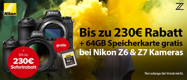 Nikon Z6 & Z7 Aktion