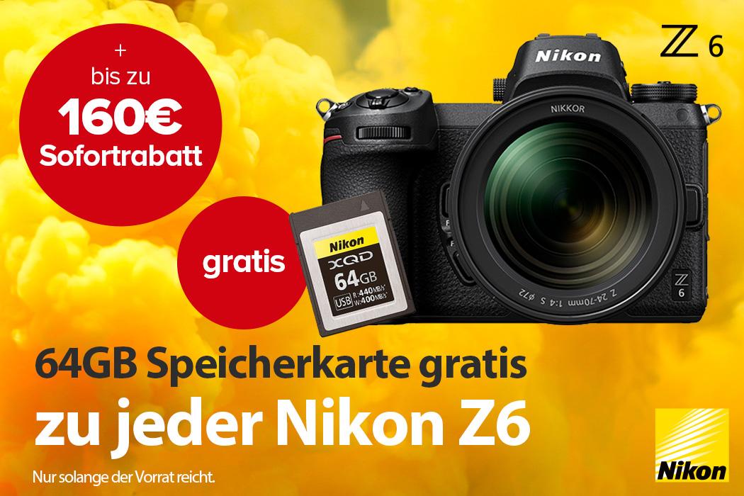 Nikon Z6 Aktion