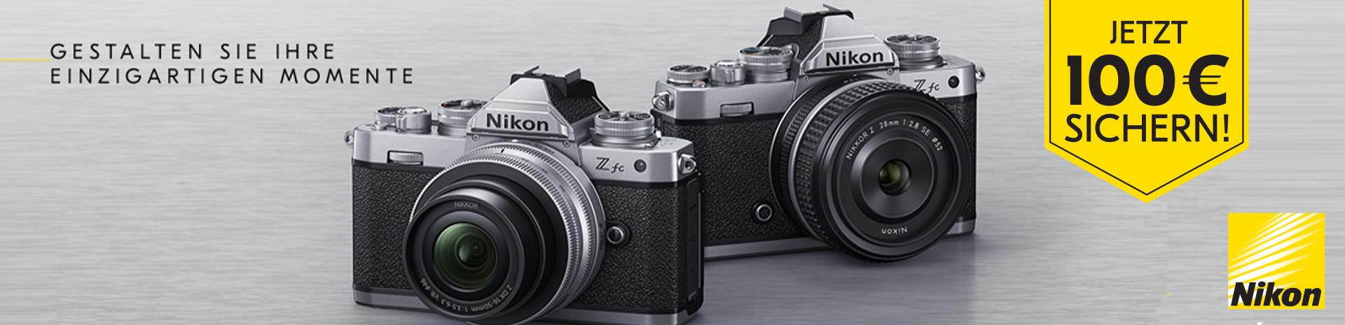 Nikon Objektiv Sofortrabatt