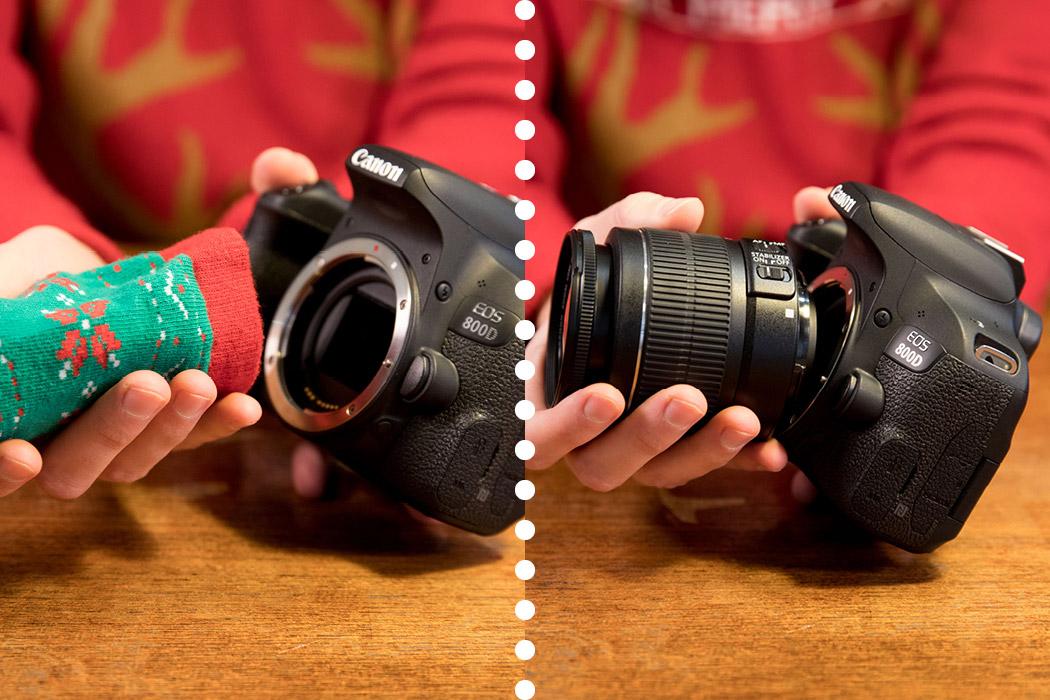 Geschenk Objektive - besser als Socken