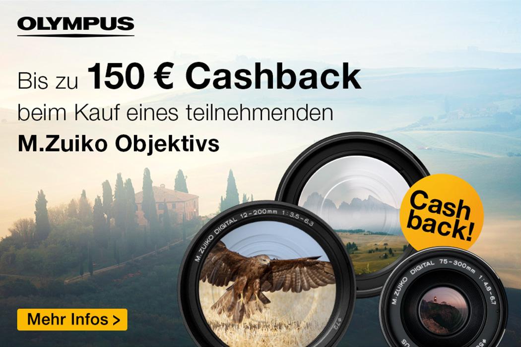 Olympus Objektiv Cashback