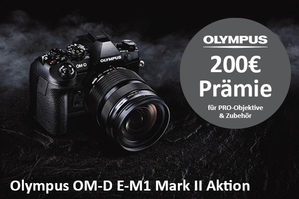 Olympus OM-D E-M1 Mark II Promo