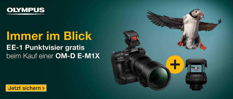 Olympus E-M1X Promotion