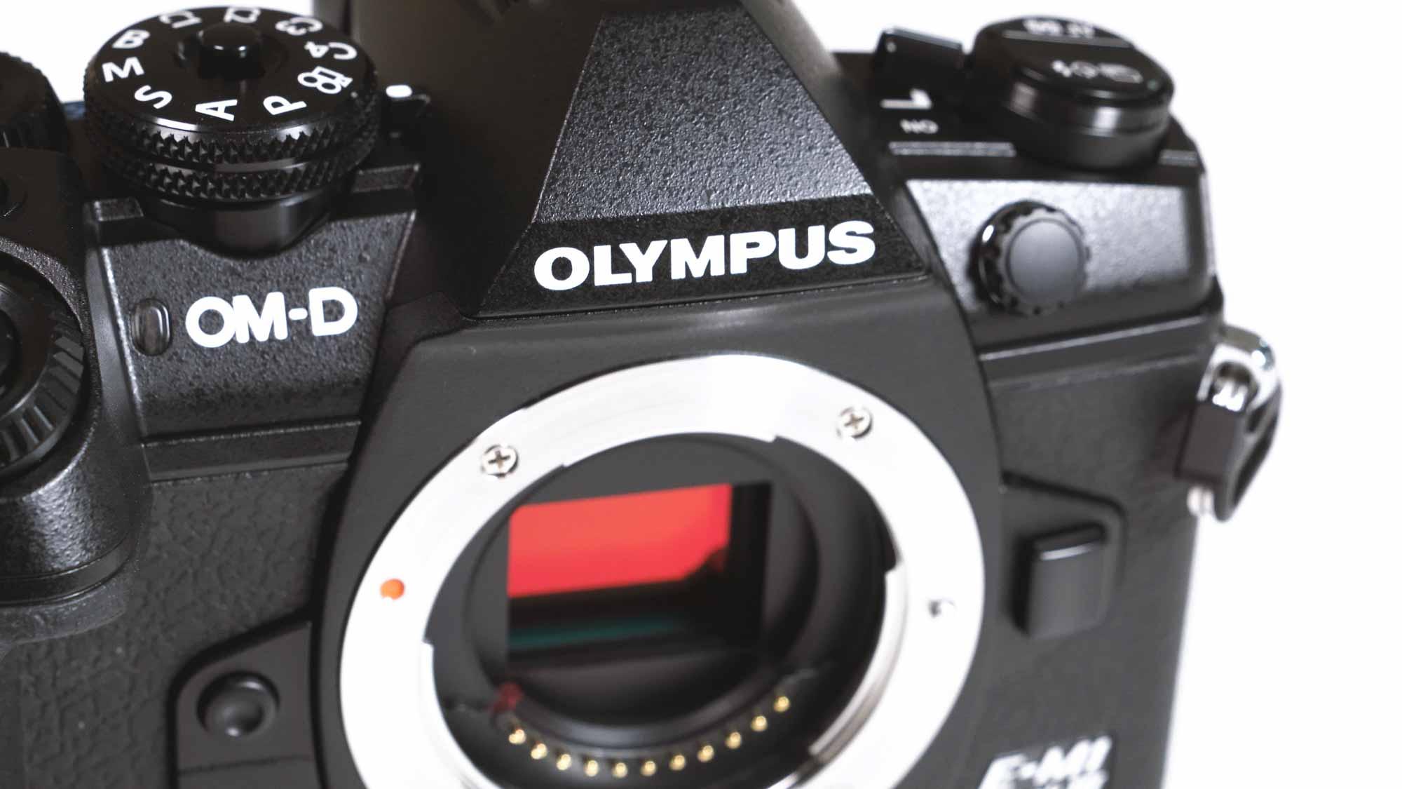 Olympus OM-D Em1 Mark III hinten