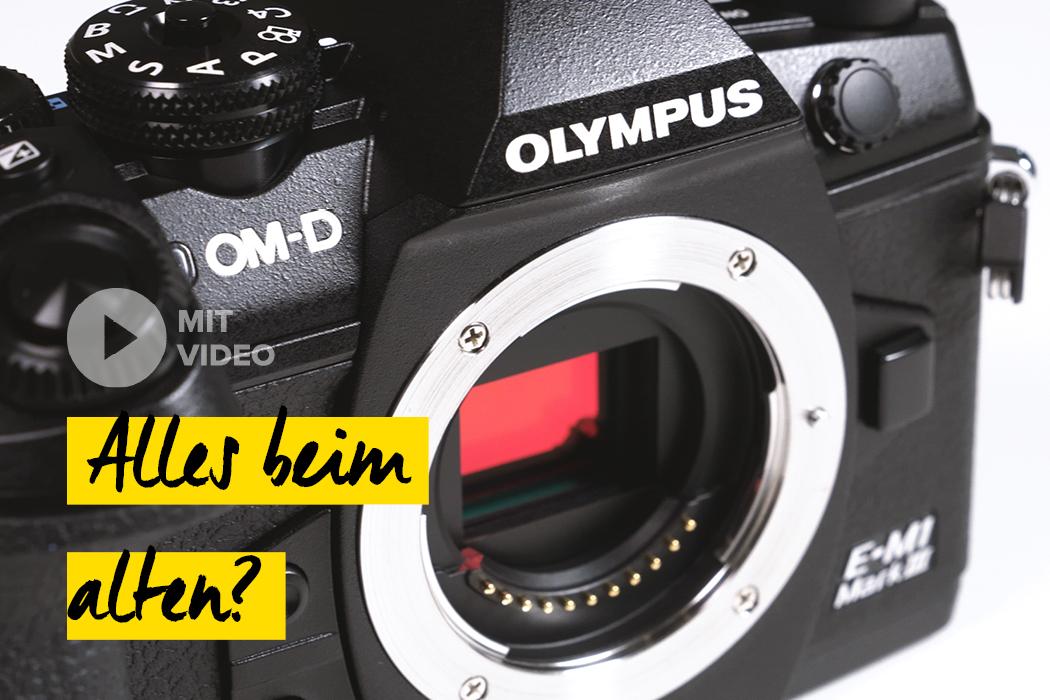 Olympus OM-D E-M1 III