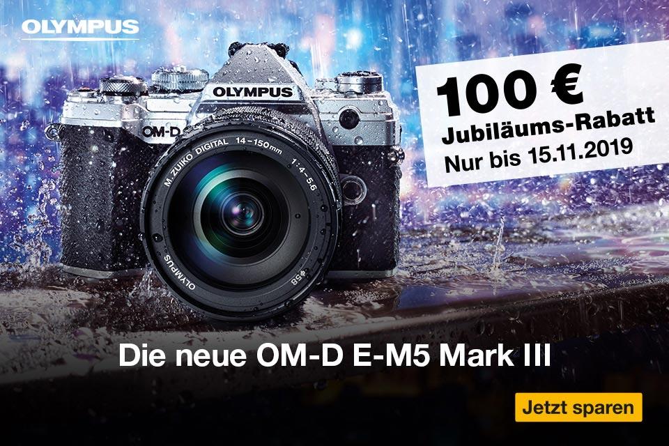 Olympus OM-D E-M5 III Jubiläumsrabatt