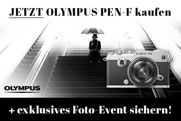 Olympus PEN-F gratis Foto-Event