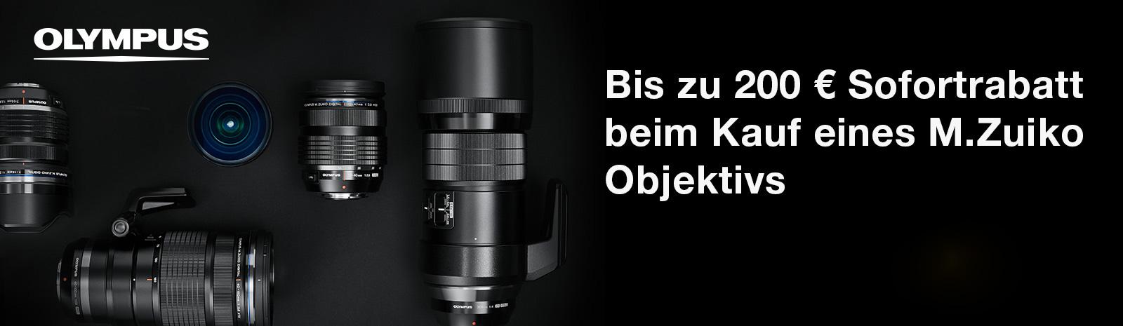 Olympus Objektiv Promotion