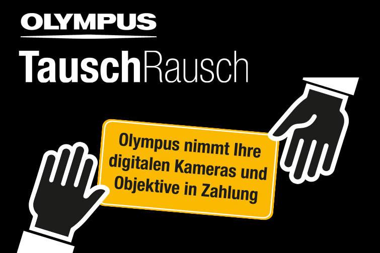 Olympus Tauschrausch bei den Düsseldorfer Fototagen