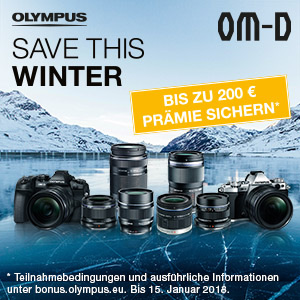 Olympus Winter CashBack