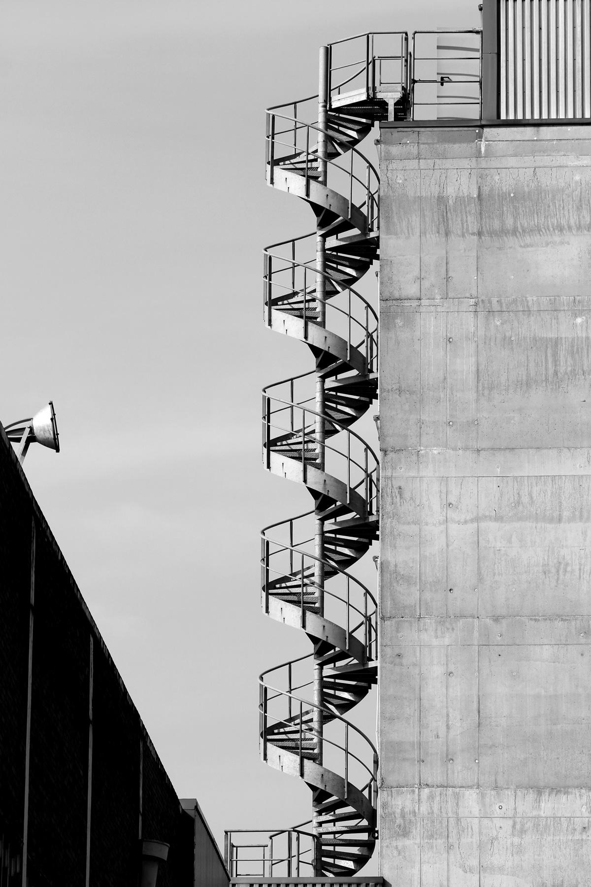 Treppe an Gebäude