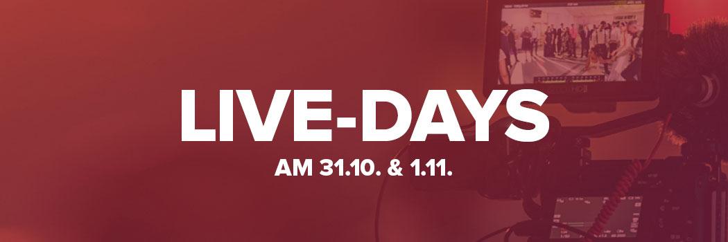 Online Fototage Live Days Banner