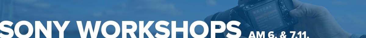 Sony Workshops Online Fototage