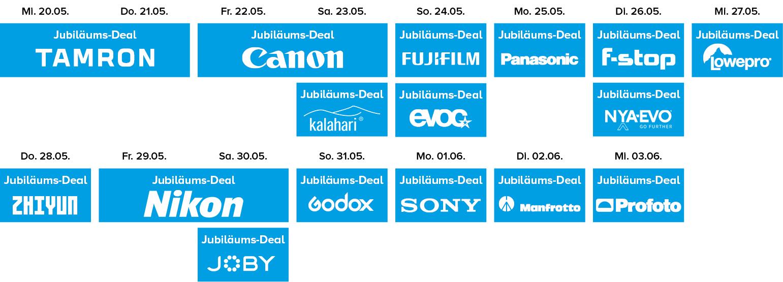 Online Fototage Jubiläumsdeals