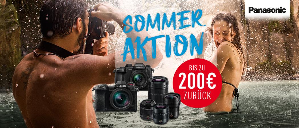 Panasonic Sommer Aktion