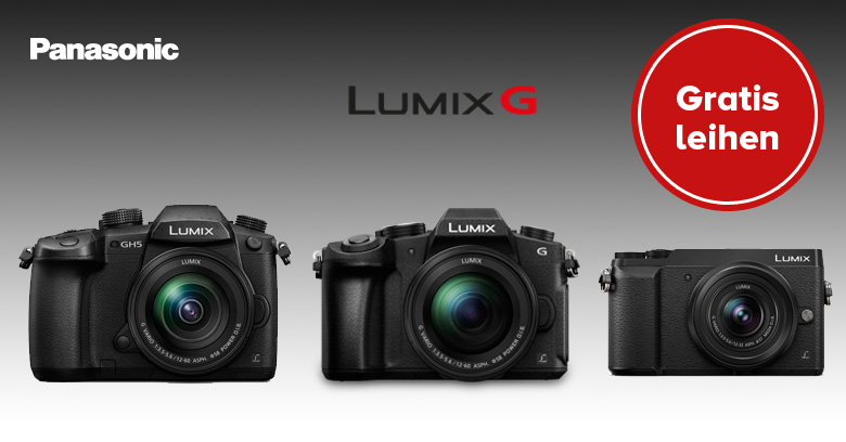 Panasonic Lumix Leihaktion