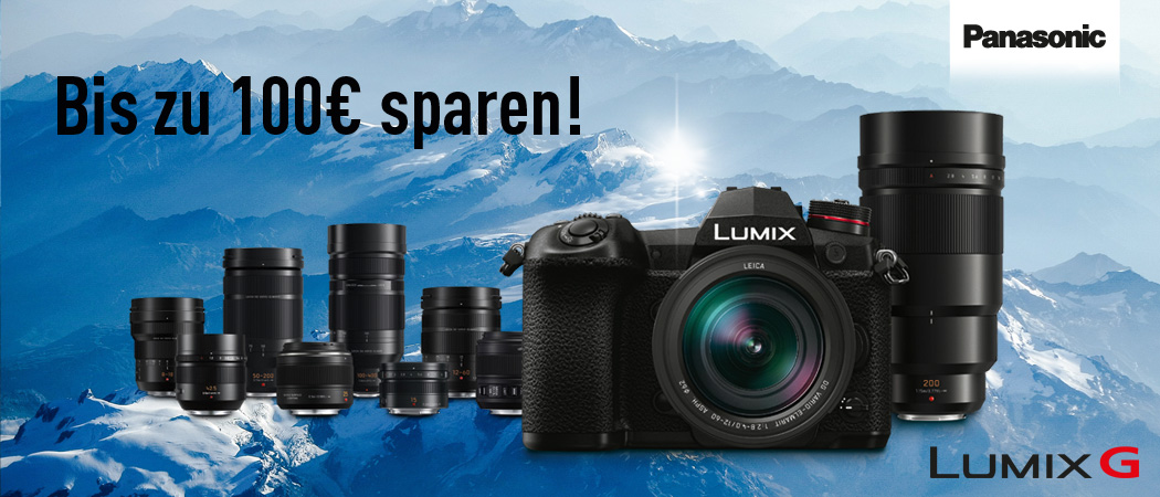 Panasonic Lumix G Sofortrabatt