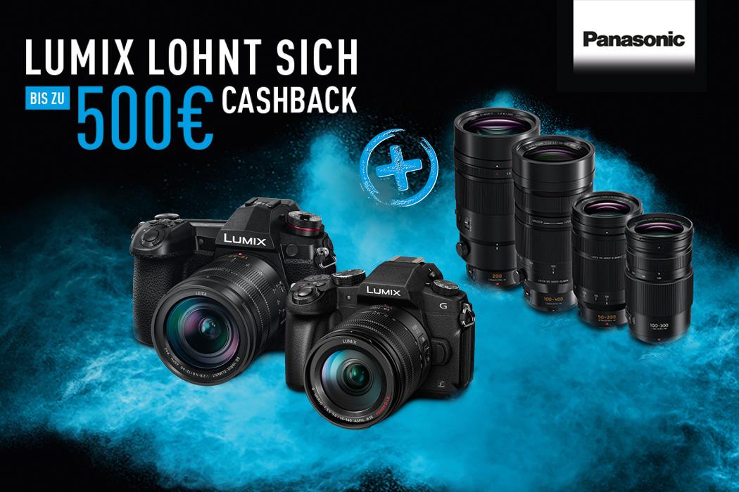 Panasonic Lumix Cashback Aktion