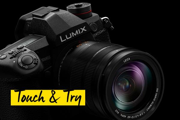Panasonic Lumix G Touch and Trz