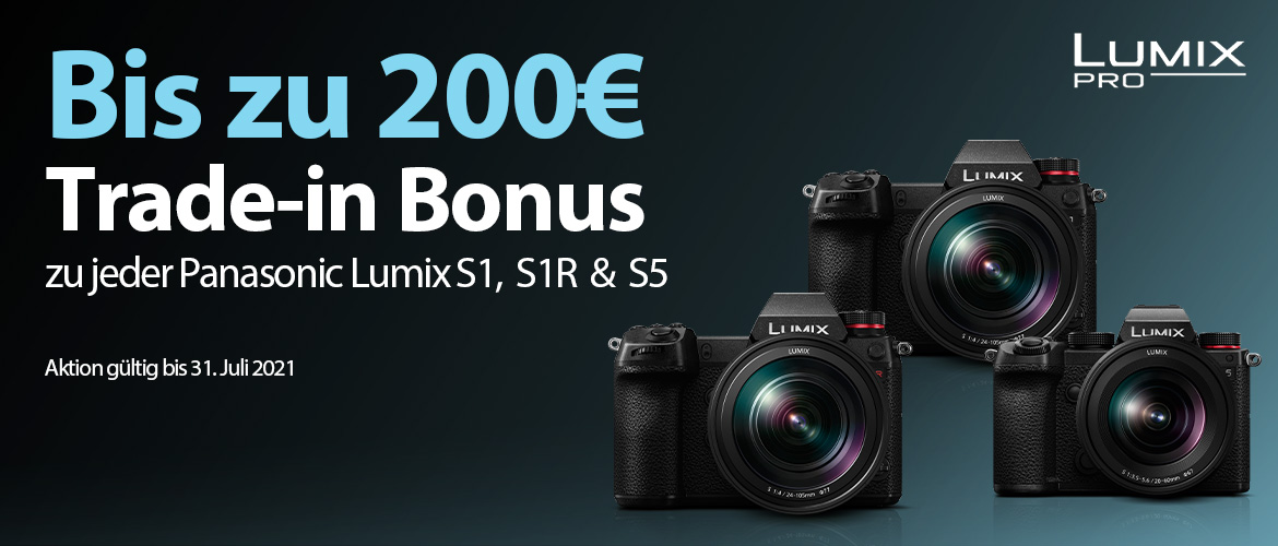 Panasonic Lumix S Trade-in