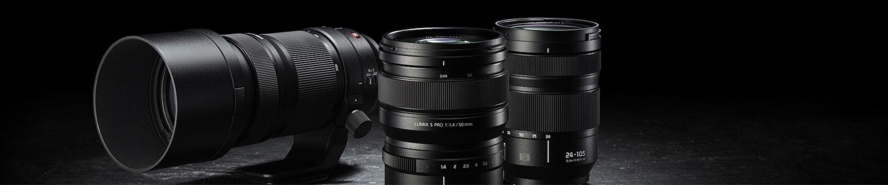 Panasonic Lumix S-Objektive