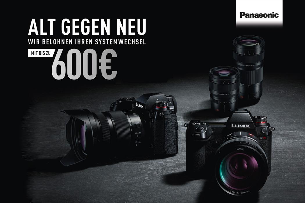 Panasonic Lumix S Trade-in Aktion