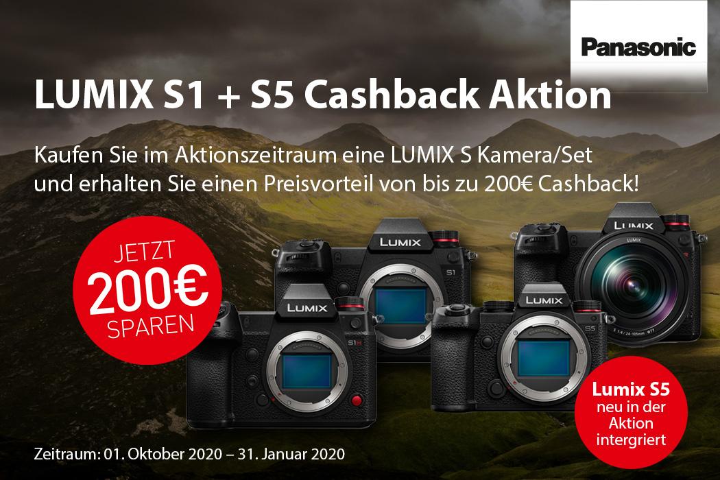 Panasonic S1 Cashback Aktion