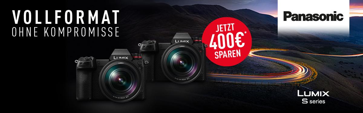 Panasonic Lumix S Sofortrabatt