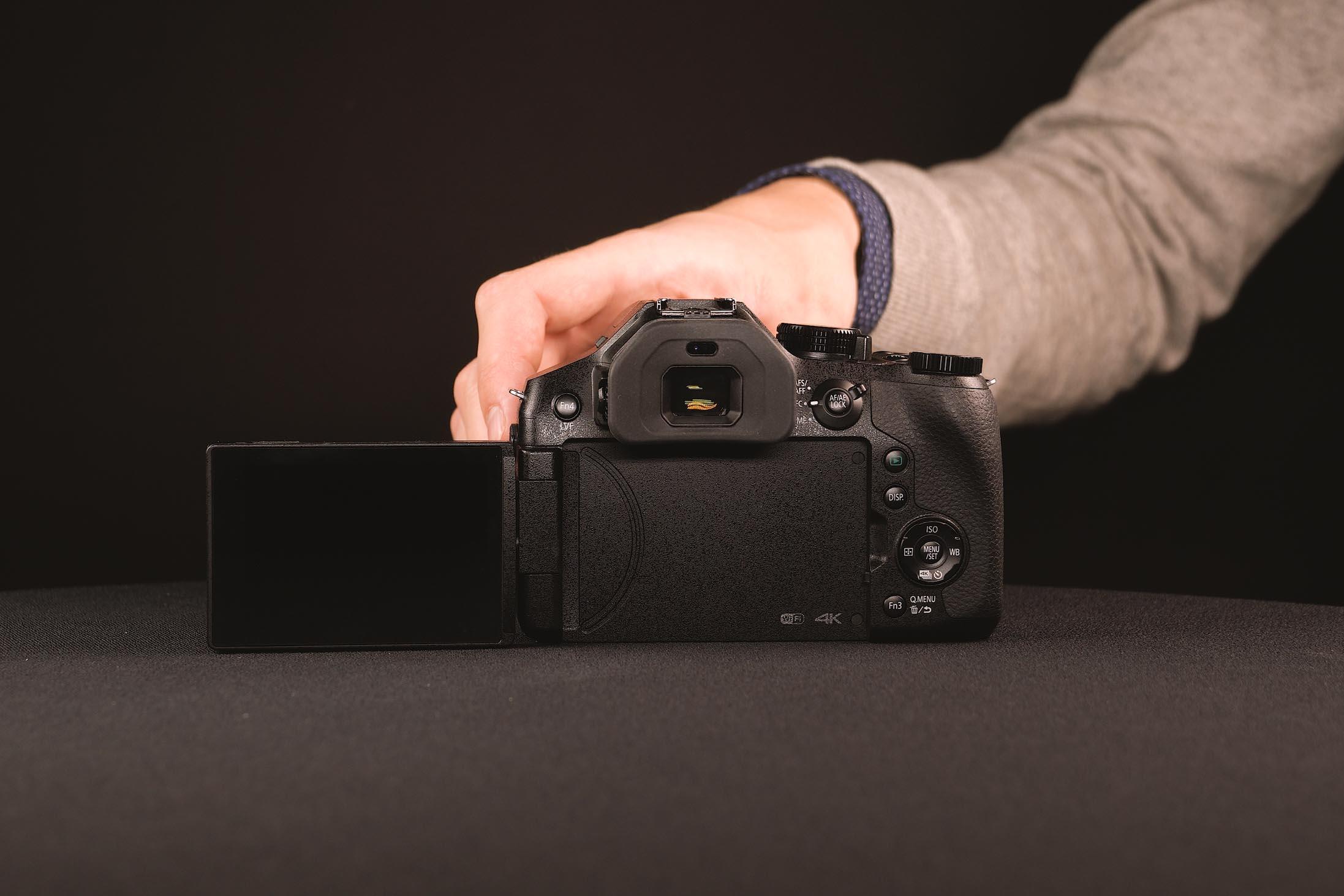 Lumix FZ 300 display