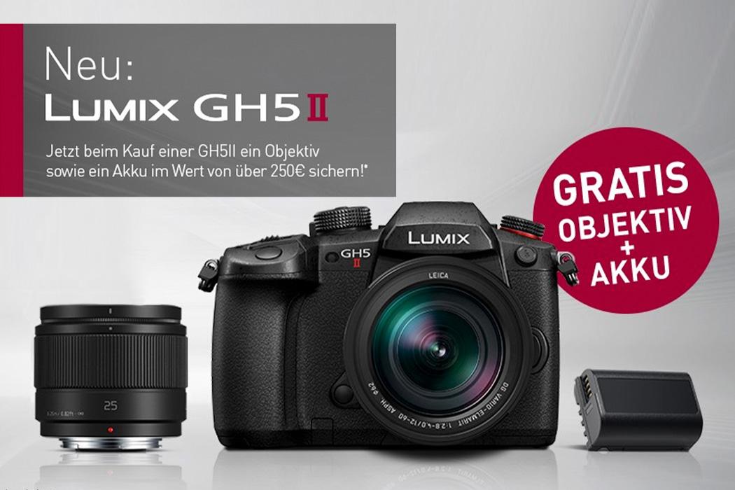 Panasonic Lumix GH5 II Einführungsaktion