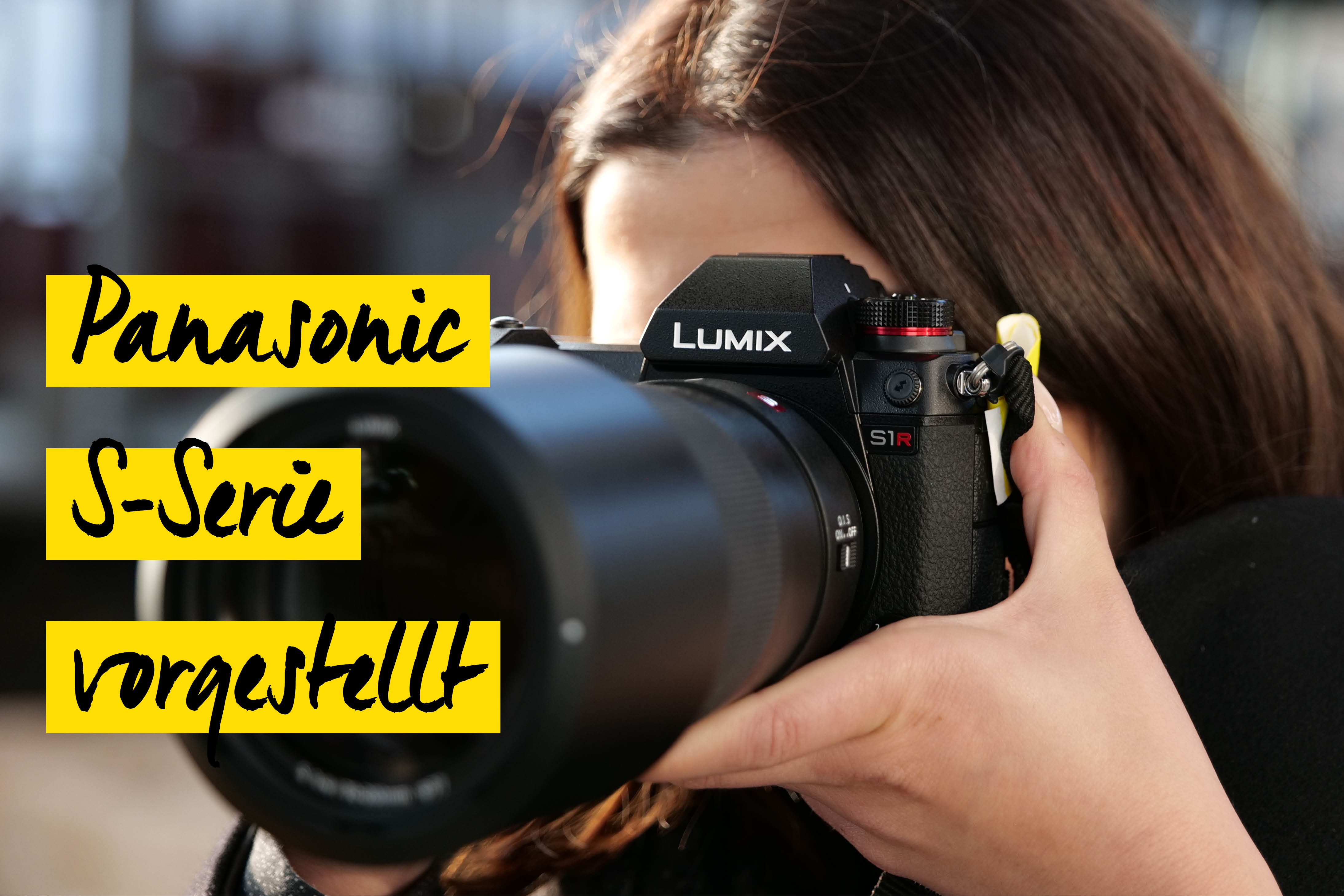 Panasonic Lumix S1 Vollformat