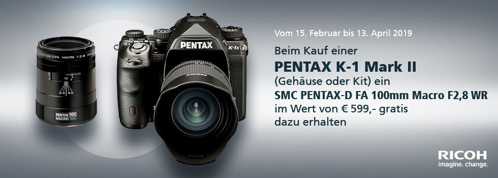 Pentax Frühjahrspromotion