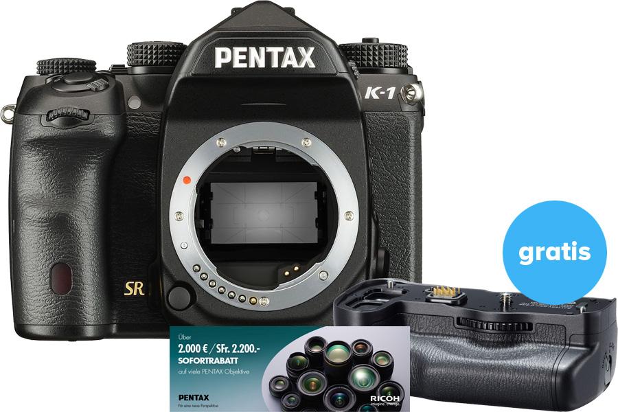 Pentax Handgriff gratis zur K-1