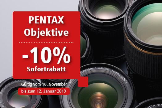 Pentax Objektiv Aktion