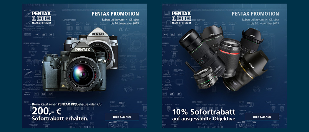 Pentax Sofortrabatt Aktion