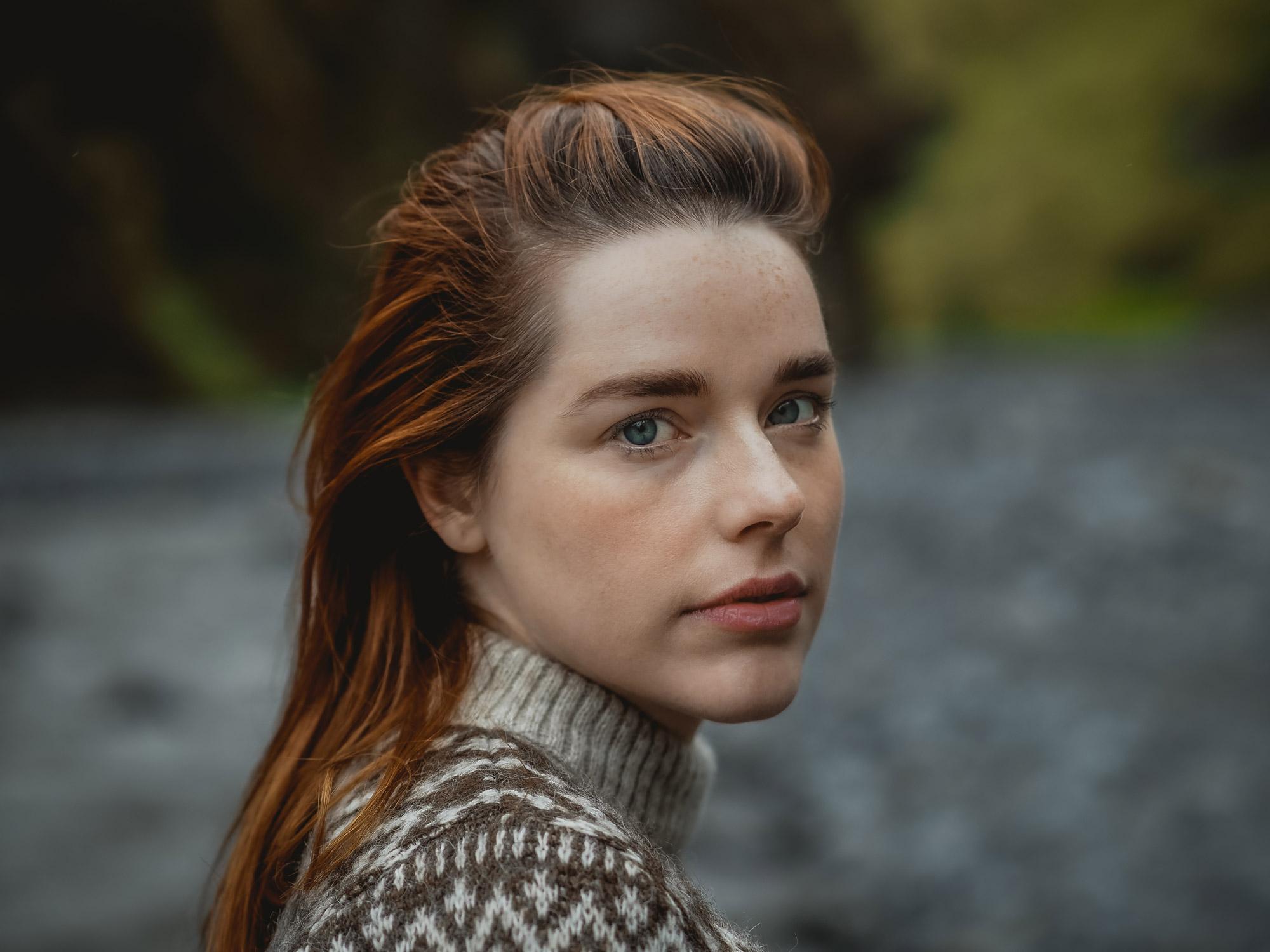 Frau Portrait Outdoor