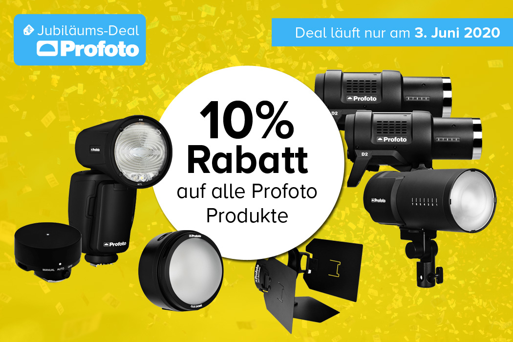 Profoto Jubiläums-Deal