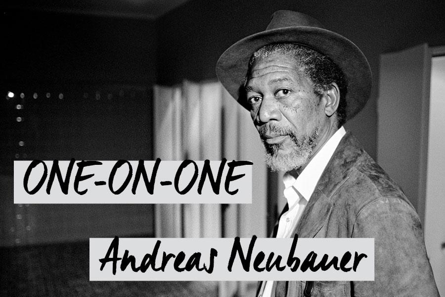 Morgan Freeman von Andreas Neubauer