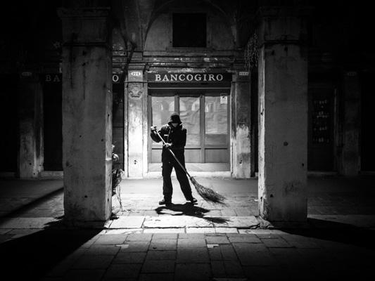 Bancogiro, Venedig von Thomas Leuthard