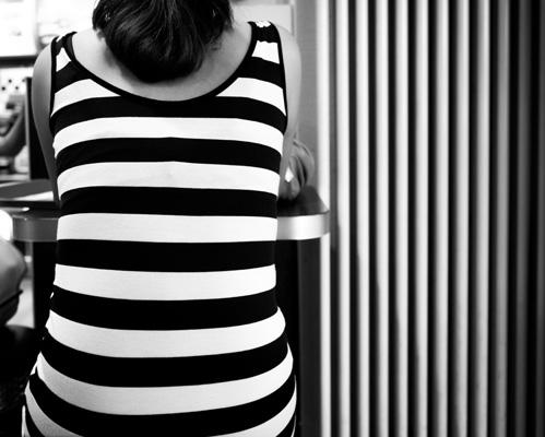 Stripes II, Zürich von Thomas Leuthard