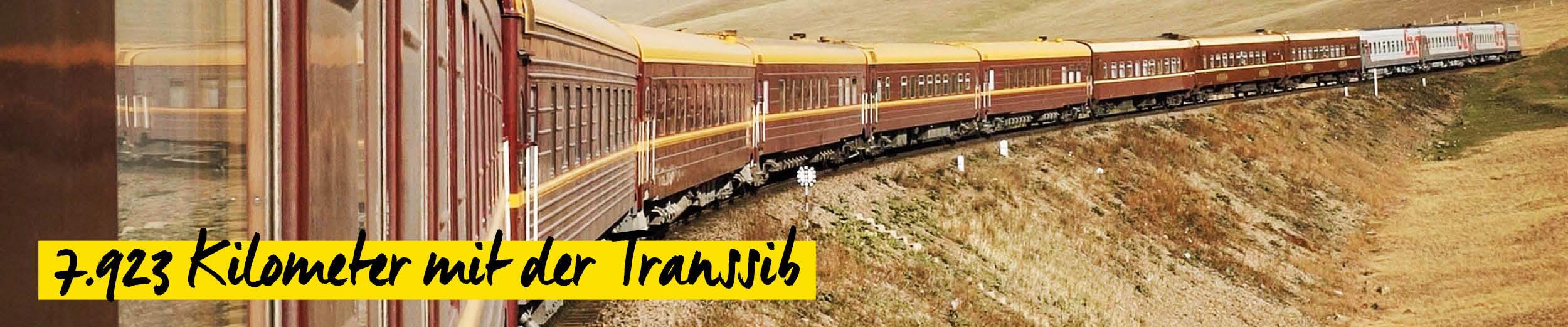 Transibirische Eisenbahn - Dennis Schmelz Kameramann