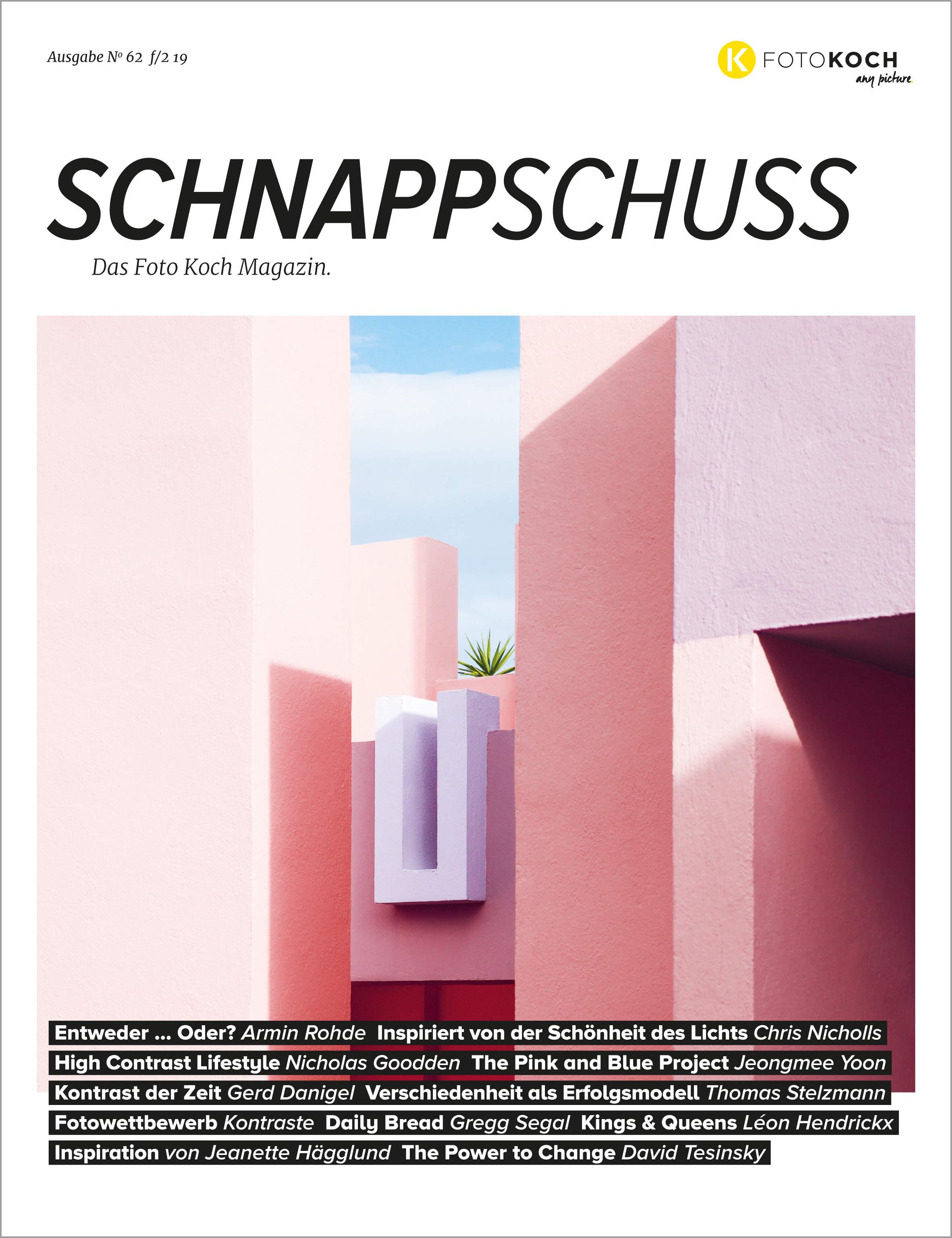 Cover Schnappschuss Nr. 62 - Kontraste