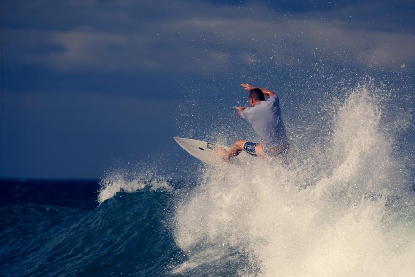 Schnappschuss Reisefotografie Surfer