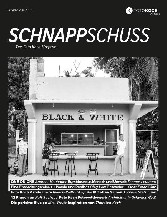 Schnappschuss No. 55 Schwarz-Weiß