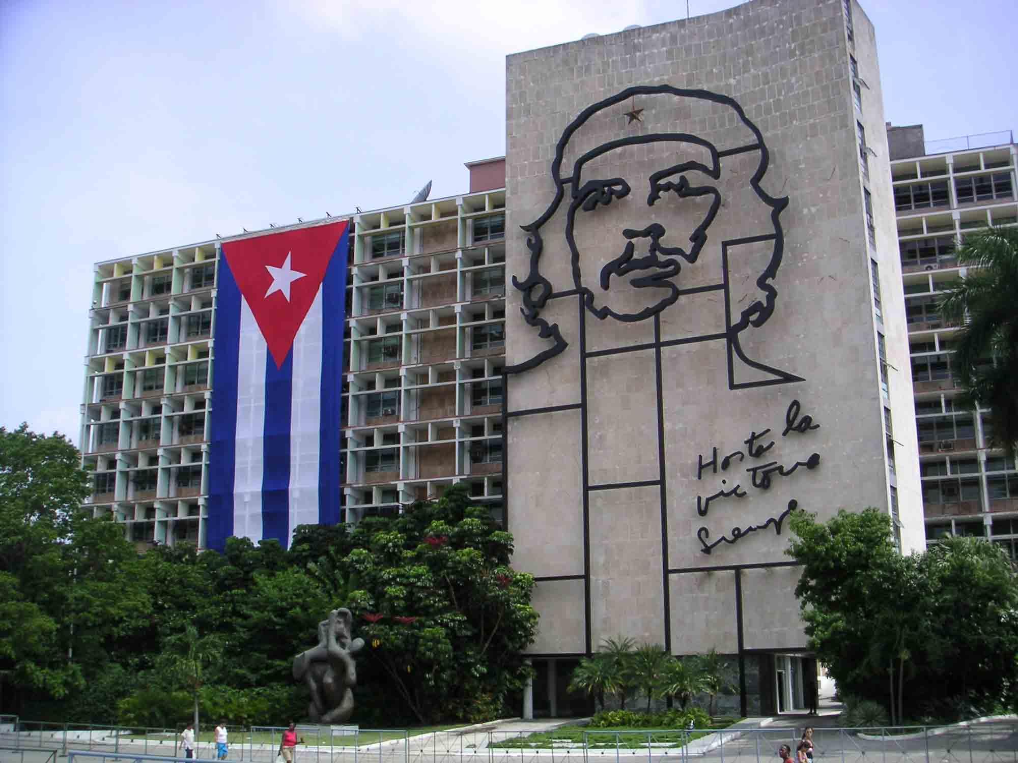 Che Guavara Skulptur