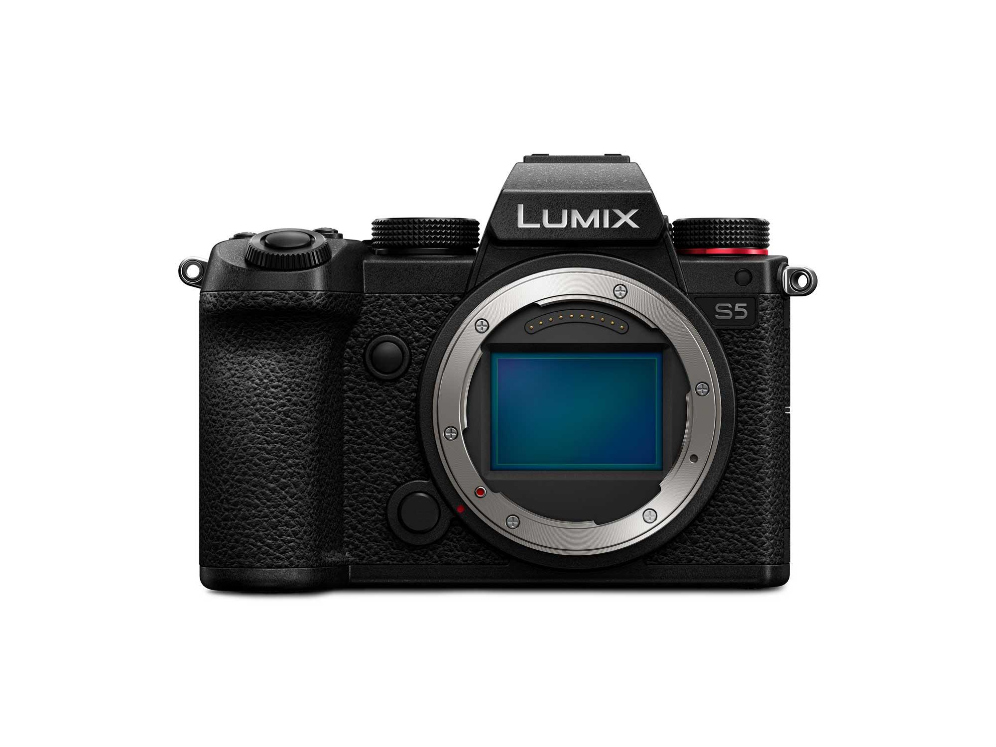 Sensor Vollformat Lumix S5