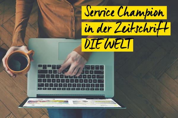 Service Champion 2016